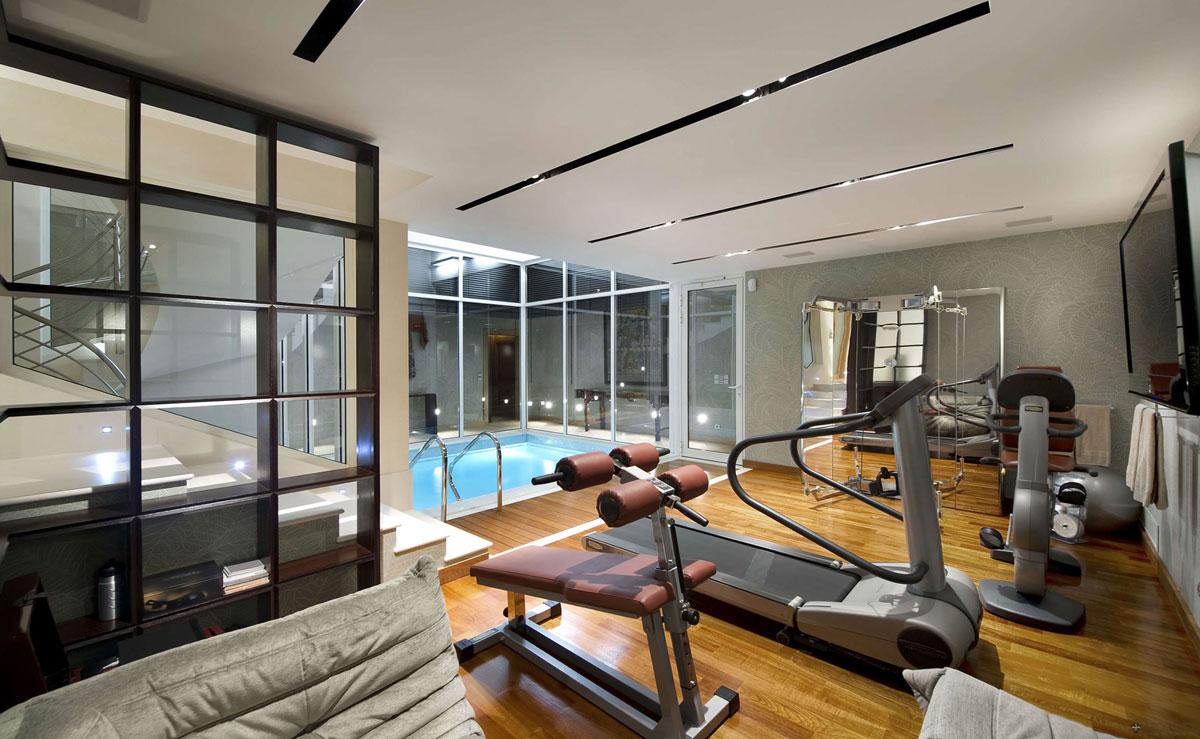 Indoor Pool, Gym, Villa on the Cap Ferrat, Côte d'Azur, France