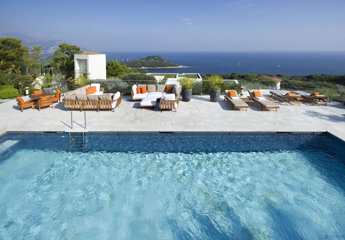 Pool, Terrace, Stunning Views, Villa on the Cap Ferrat, Côte d'Azur, France