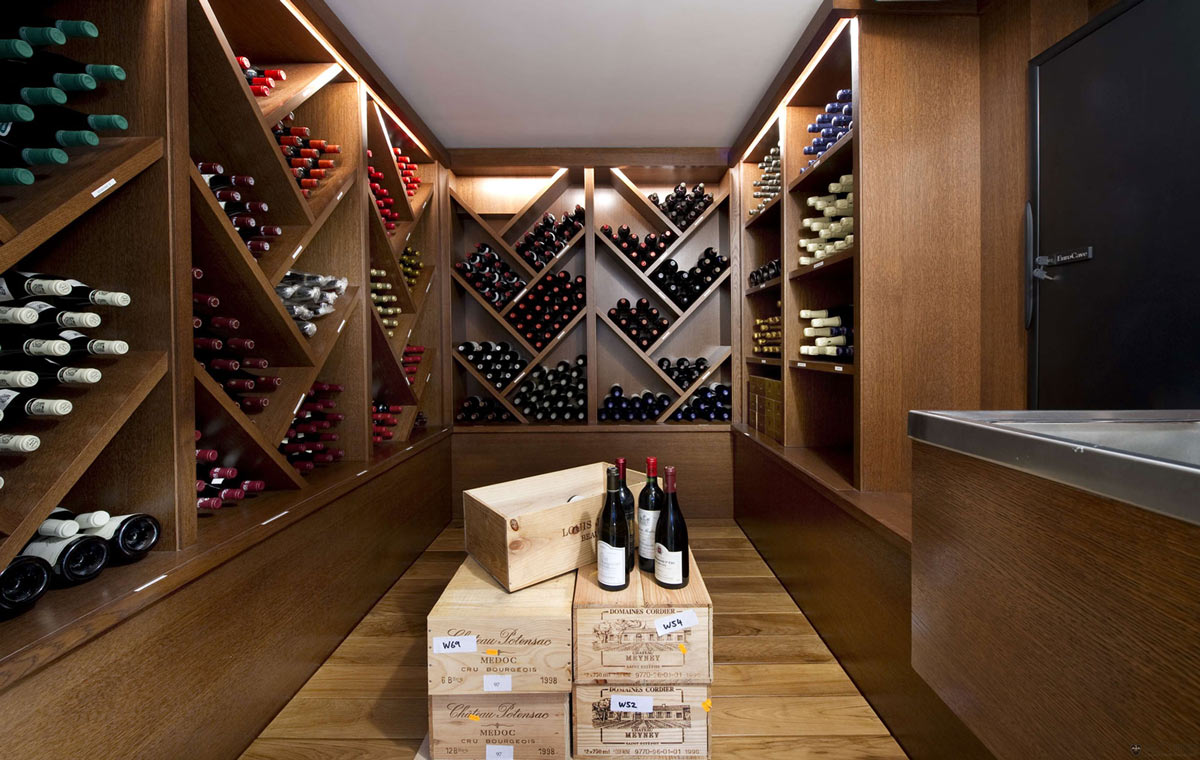 Wine Room, Villa on the Cap Ferrat, Côte d'Azur, France