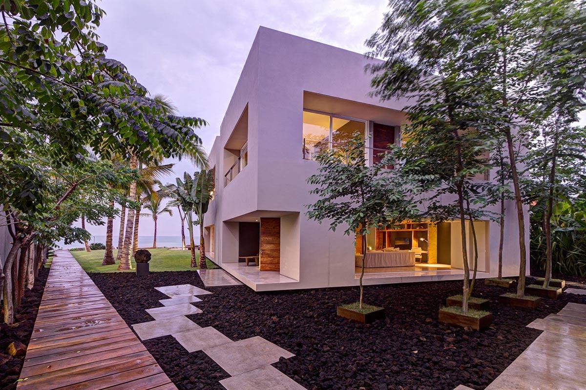 Casa La Punta in Punta Mita, Mexico by Elías Rizo Arquitectos