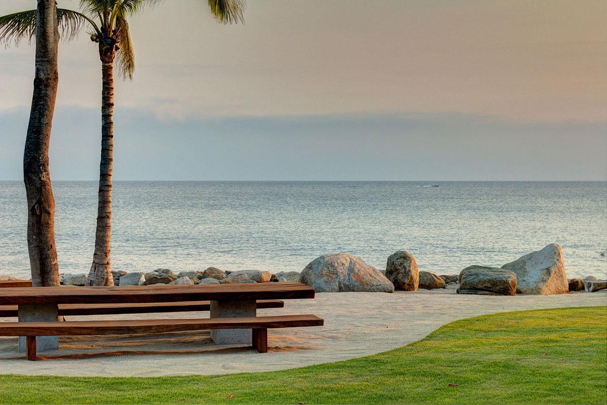 Beach, Ocean Views, Casa La Punta in Punta Mita, Mexico by Elías Rizo Arquitectos