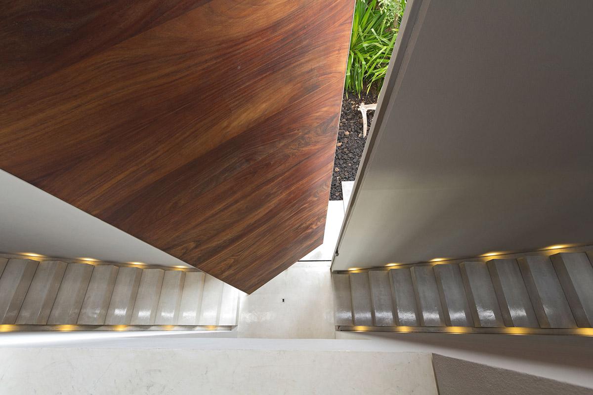 Entrance, Stairs, Casa La Punta in Punta Mita, Mexico by Elías Rizo Arquitectos