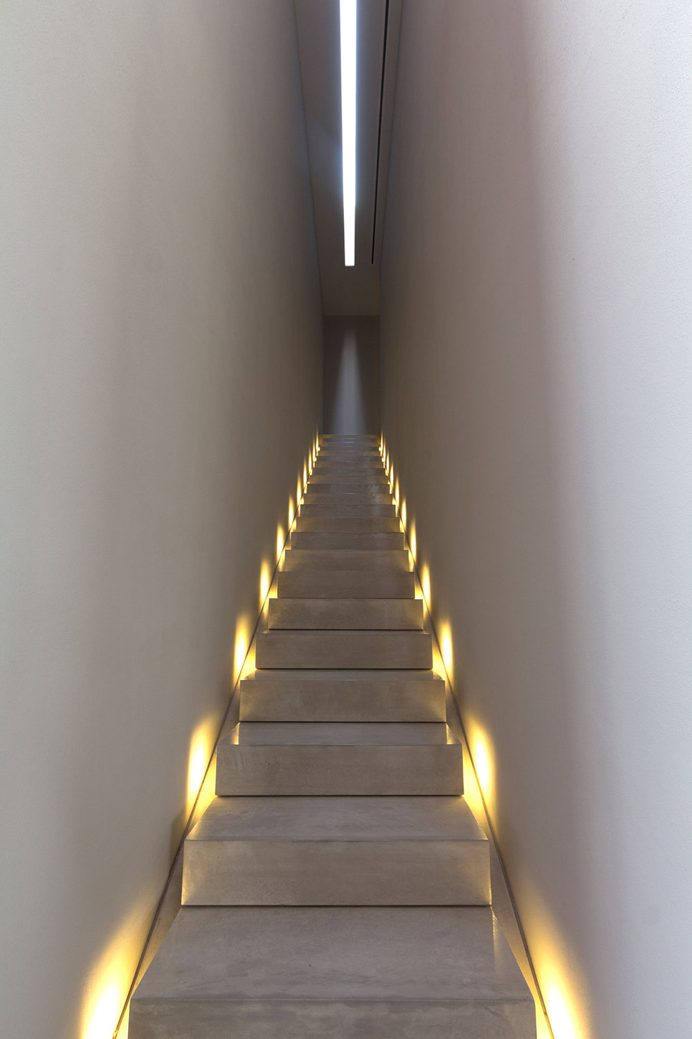 Stairs, Lighting, Casa La Punta in Punta Mita, Mexico by Elías Rizo Arquitectos
