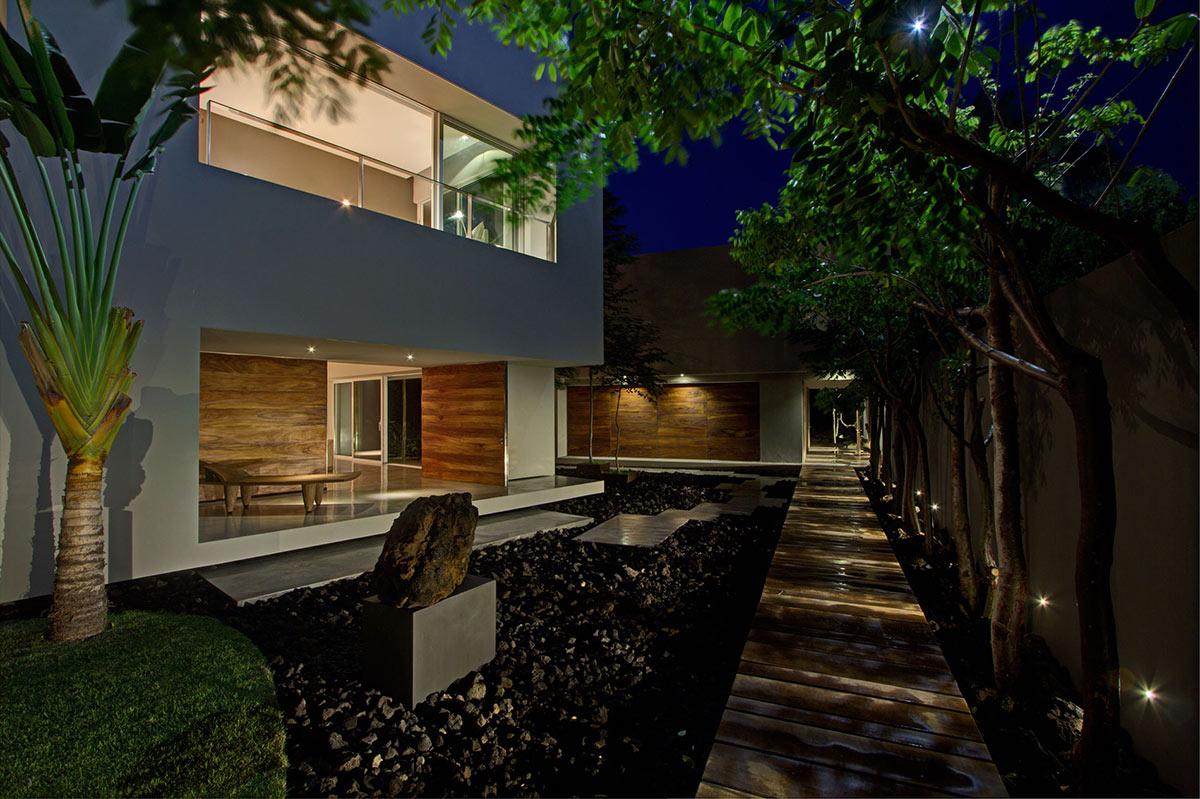 Terrace, Casa La Punta in Punta Mita, Mexico by Elías Rizo Arquitectos