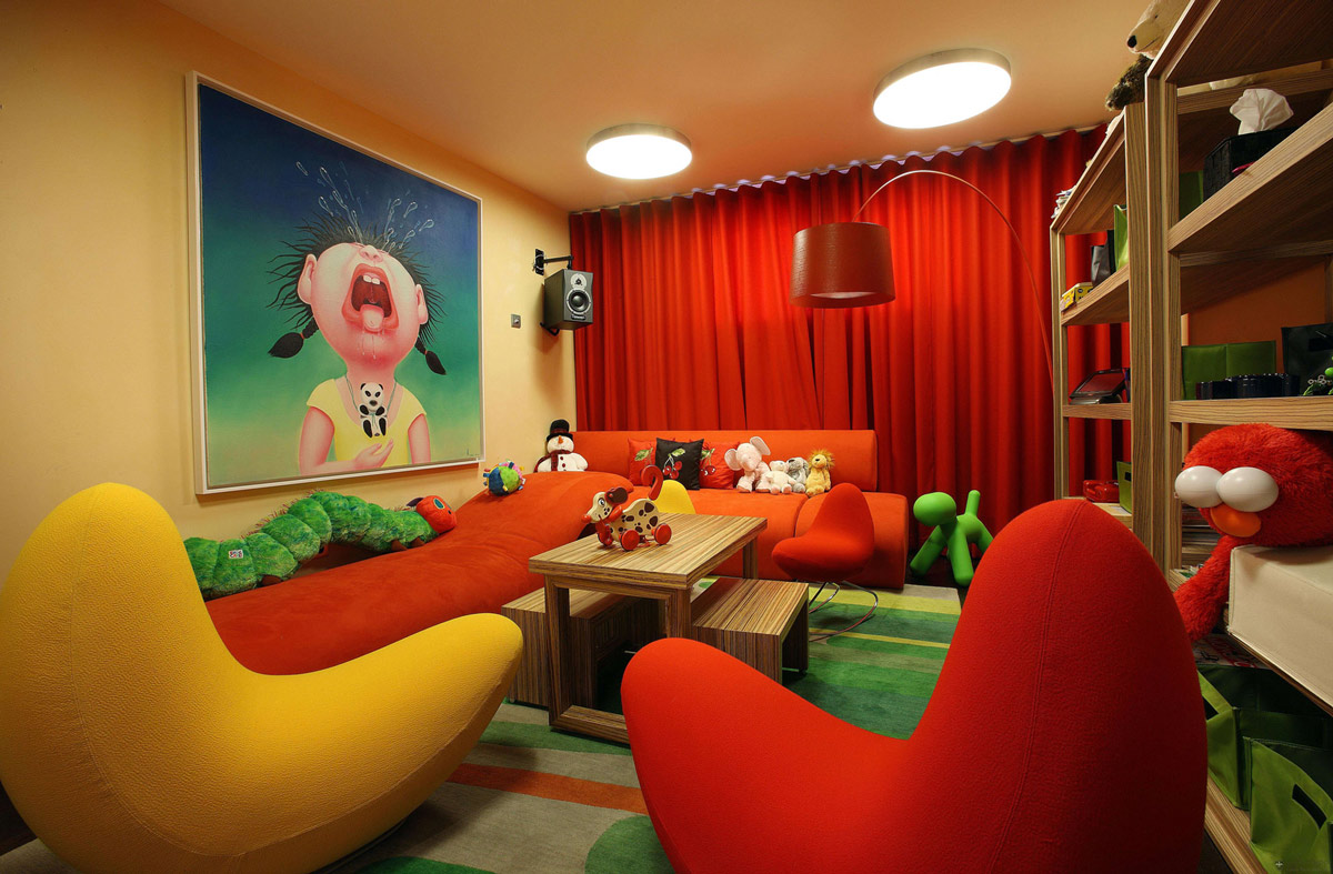 Children's Play Room, Chalet E in Courchevel 1850, France