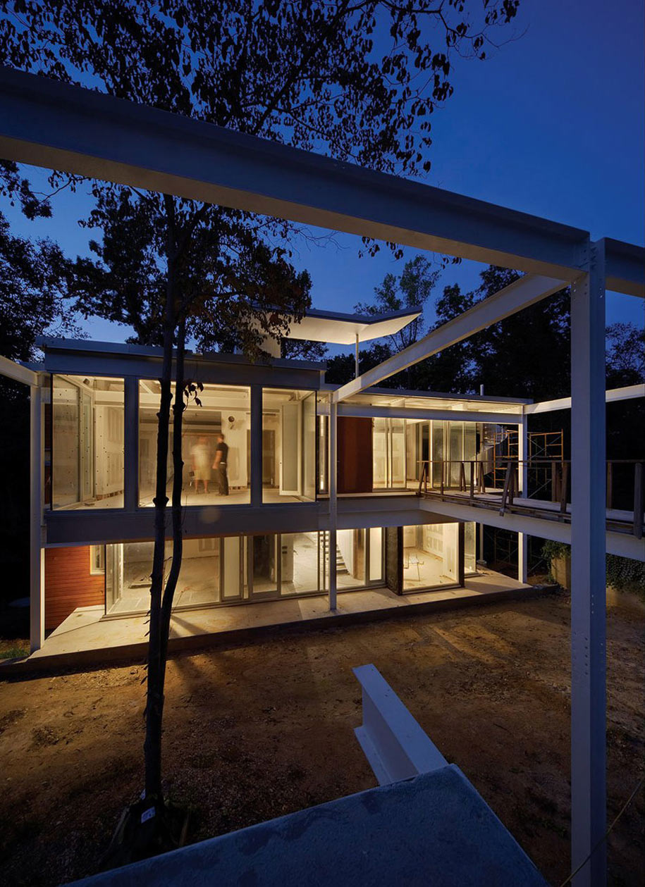 Lighting, Chiles Residence in Raleigh, North Carolina by Tonic Design + Construction