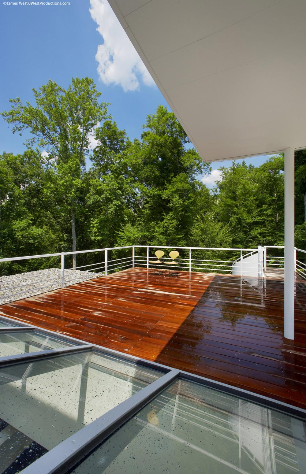 Wood Terrace, Chiles Residence in Raleigh, North Carolina by Tonic Design + Construction