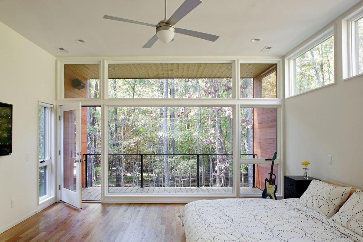 Deck house renovation in chapel hill north carolina for Balcony renovation
