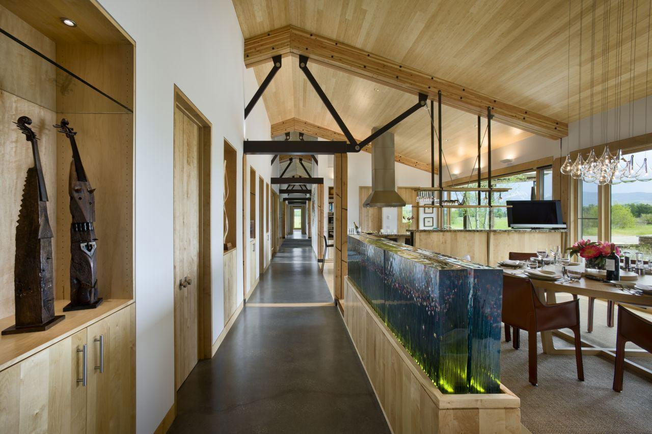 Living Space, EHA Family Trust Residence in Wilson, Wyoming