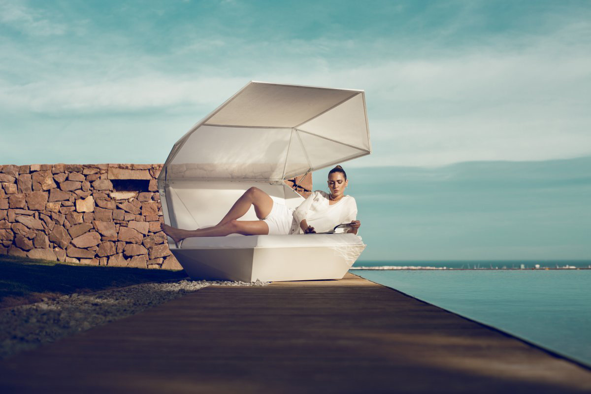 Faz Daybed by Ramon Esteve for VONDOM
