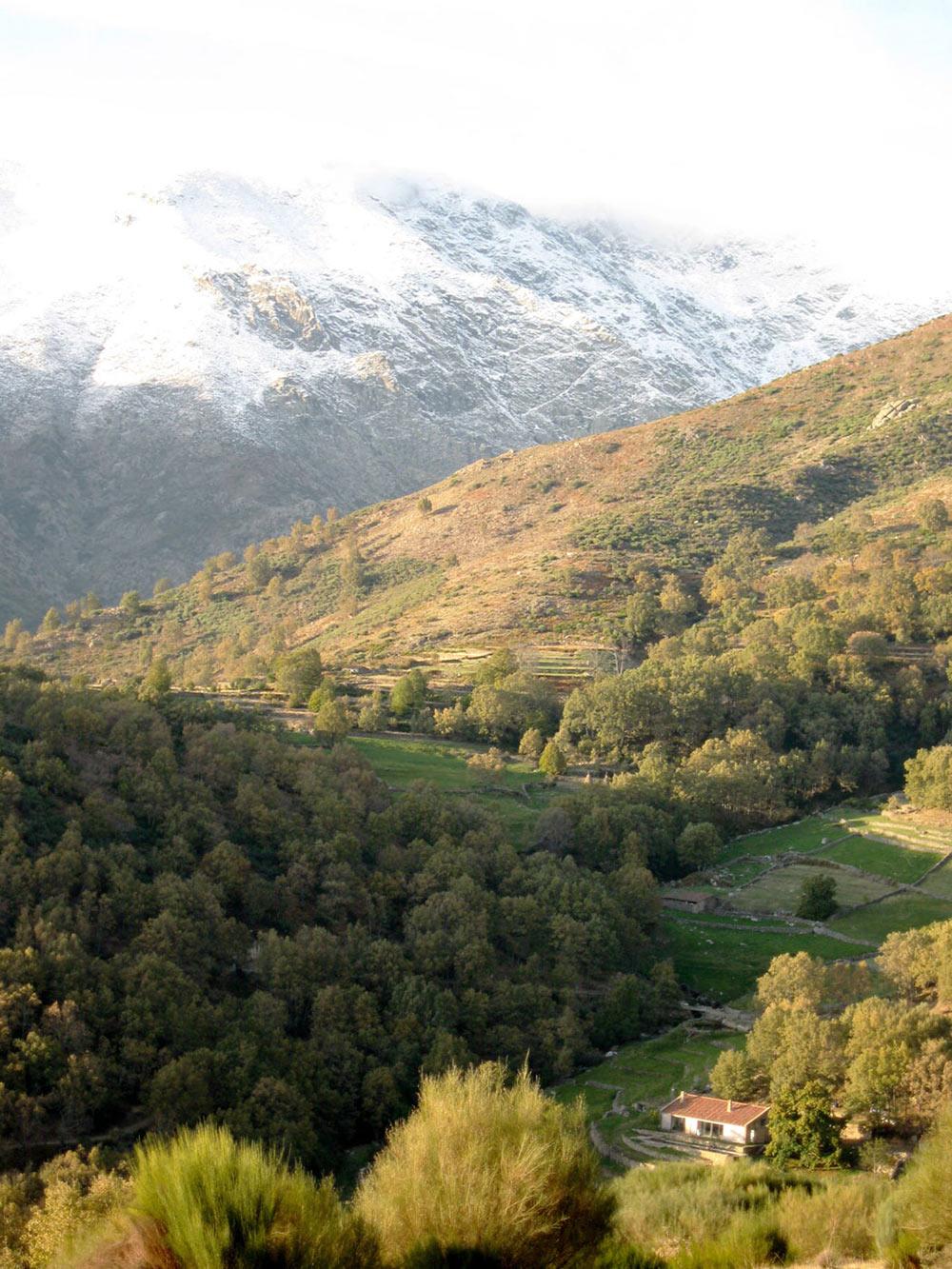 Mountain Views, Finca en Extremadura in Cáceres, Spain by ÁBATON