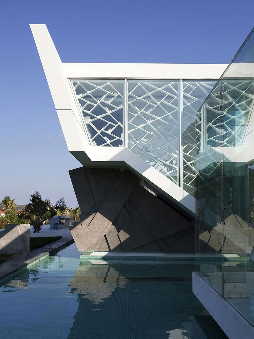 Pool, Glass Walls, H3 House in Athens, Greece by 314 Architecture Studio