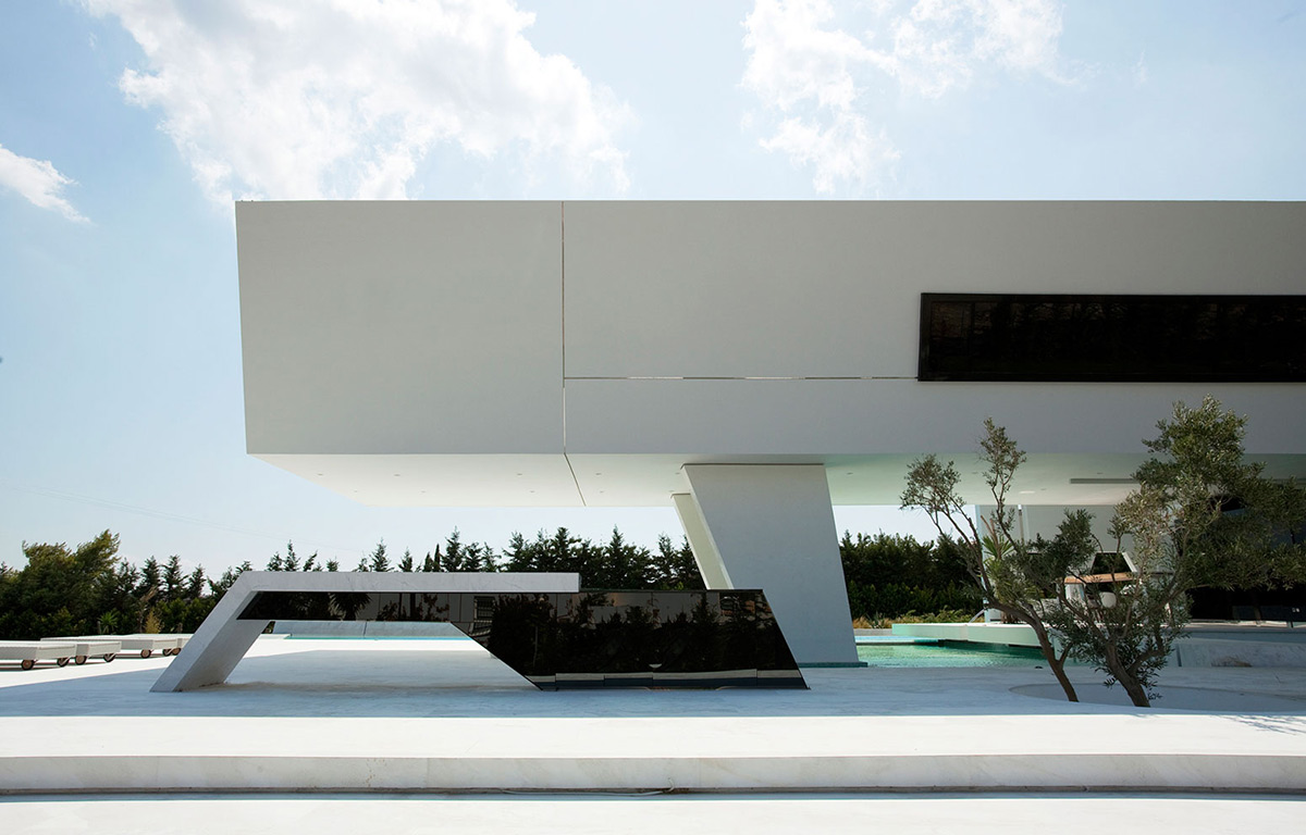 Modern Line, H3 House in Athens, Greece by 314 Architecture Studio