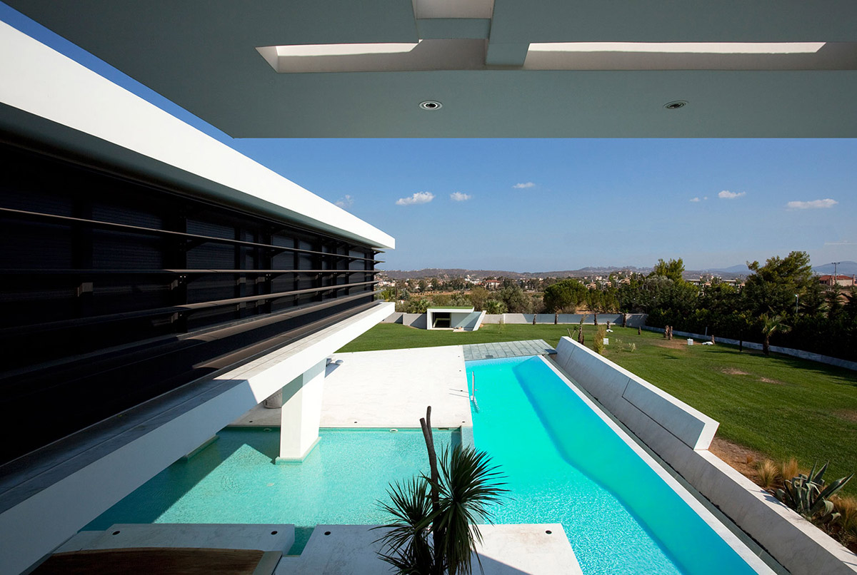 Views, H3 House in Athens, Greece by 314 Architecture Studio