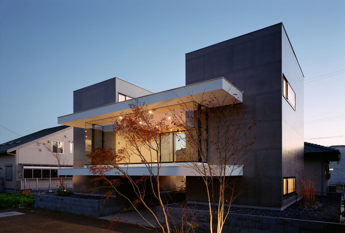 Outotunoie Residence in Fujieda, Japan by mA-style Architects