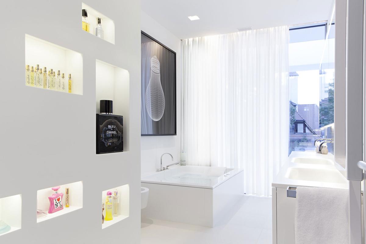 Bathroom, Bath, Sinks, House M in Meran, Italy by monovolume architecture + design