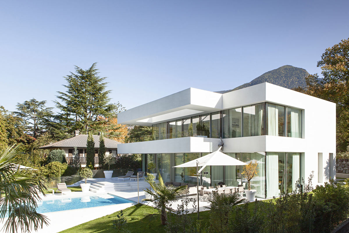 Outdoor Living, House M in Meran, Italy by monovolume architecture + design