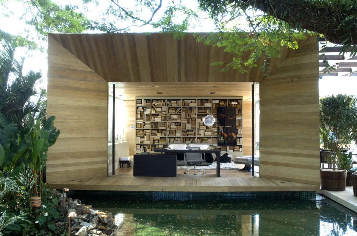 Water Feature, Bedroom, Loft 24-7 in São Paulo, Brazil by Fernanda Marques Arquiteto Asociados