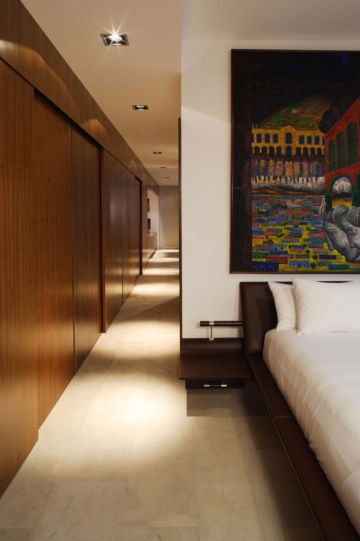 Bedroom, Residencia MB2 in Nuevo León, Mexico by LeNoir & Asoc.