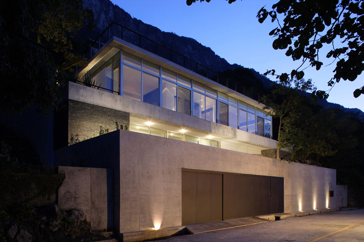 Garage, Lighting, Residencia MB2 in Nuevo León, Mexico by LeNoir & Asoc.