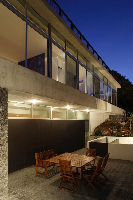 Terrace, Outdoor Dining, Residencia MB2 in Nuevo León, Mexico by LeNoir & Asoc.