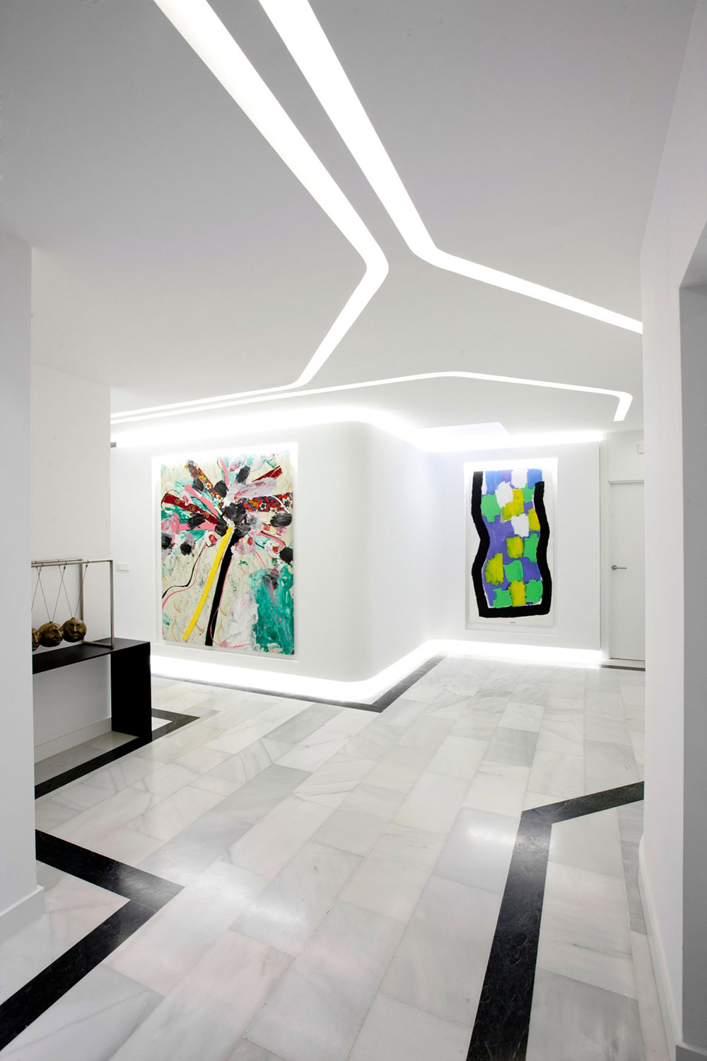 Art, Modern Apartment in Madrid Designed by IlmioDesign