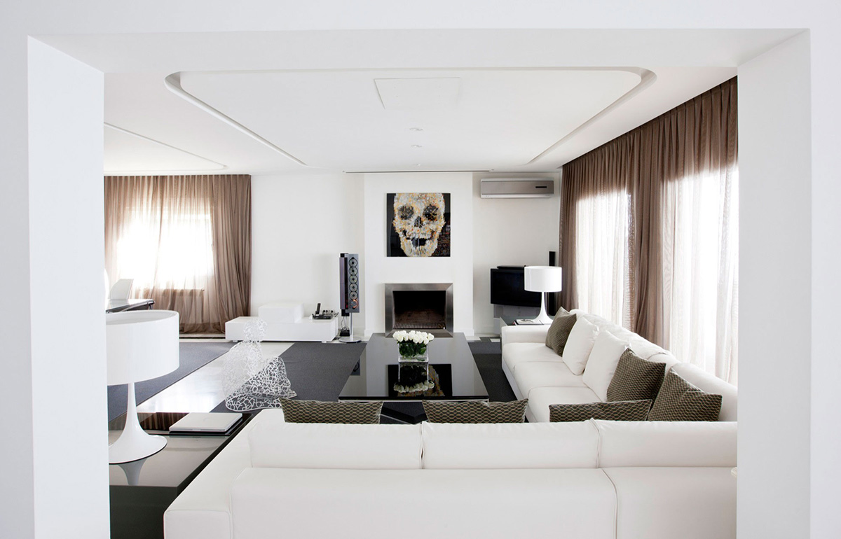 Bright Living Space, Modern Apartment in Madrid Designed by IlmioDesign