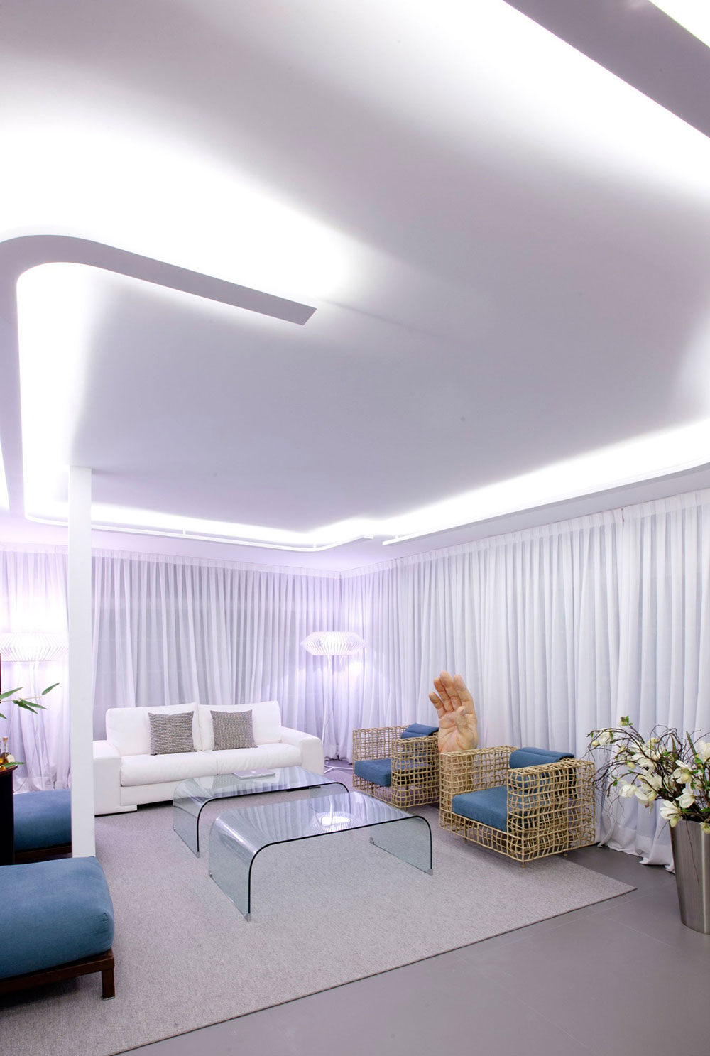 Living Space, Art, Modern Apartment in Madrid Designed by IlmioDesign
