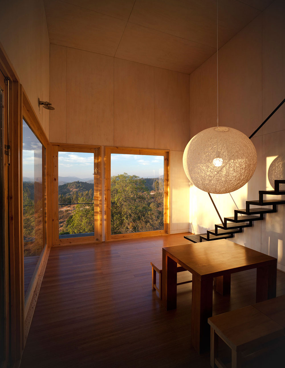 Living Space, Views, Pangal Cabin in Casablanca, Chile