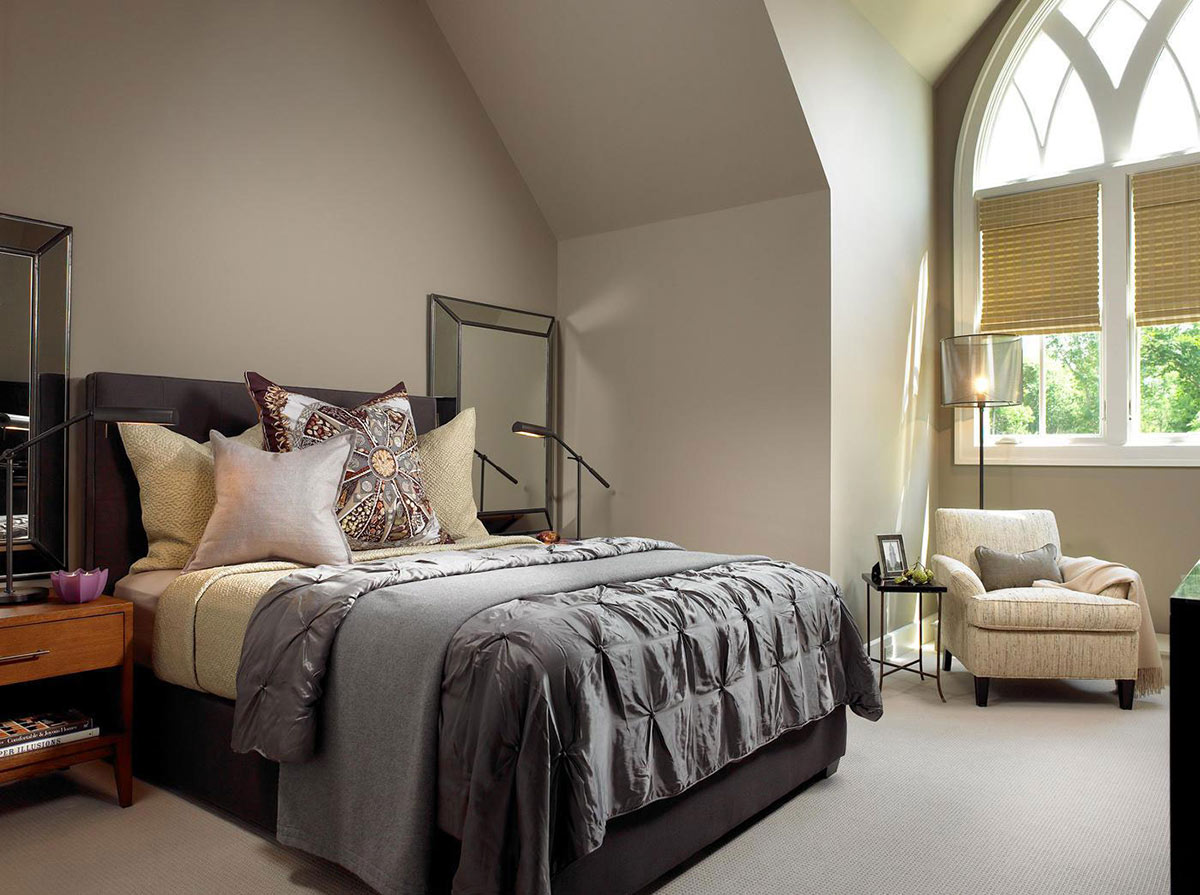 Bedroom, Pool House & Wine Cellar in Nashville, Tennessee by Beckwith Interiors