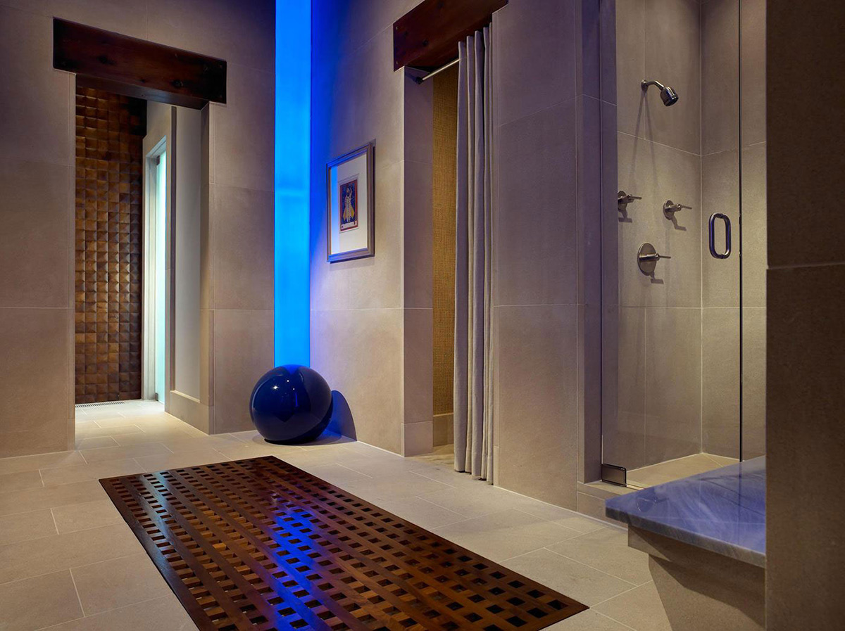 Shower Bathroom Pool House Wine Cellar In Nashville