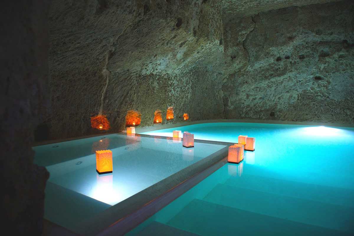 underground cave pool jacuzzi stunning renovation in