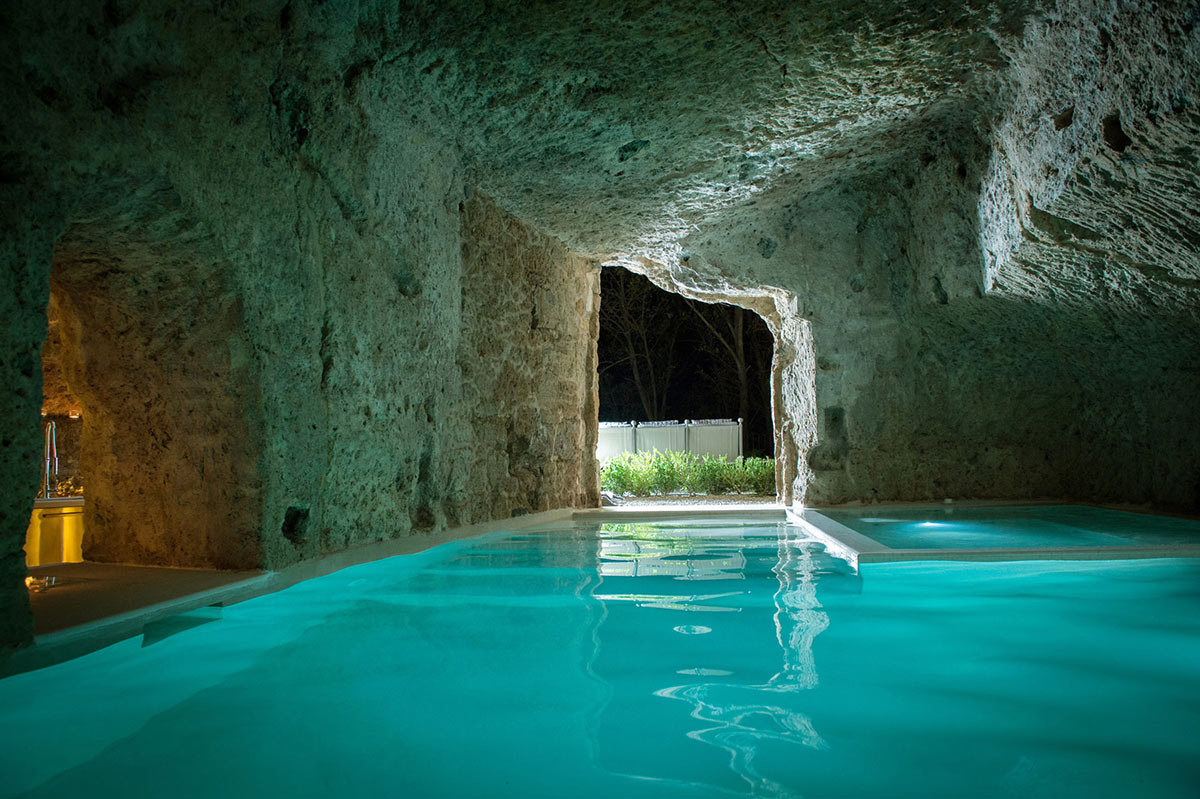 Underground Cave, Pool, Stunning Renovation in Civita di Bagnoregio by Studio F