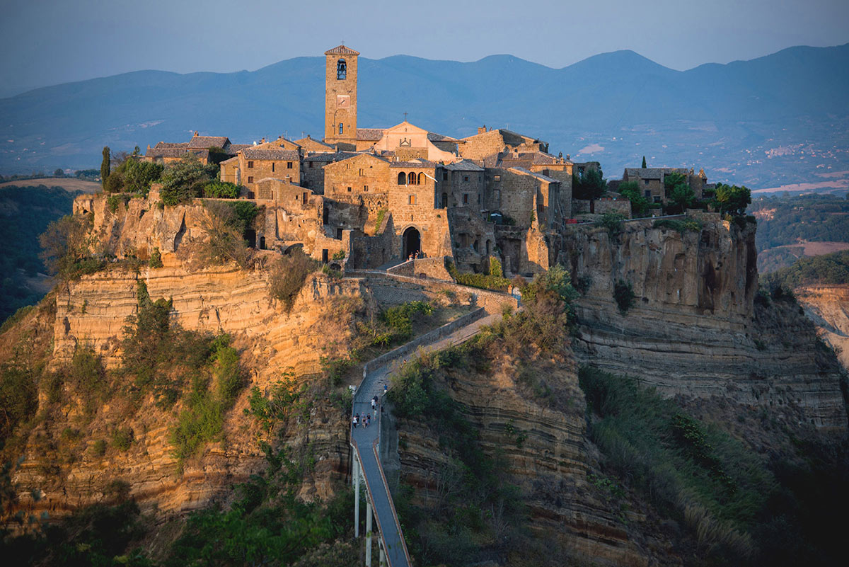 Stunning Renovation in Civita di Bagnoregio, Italy by Studio F