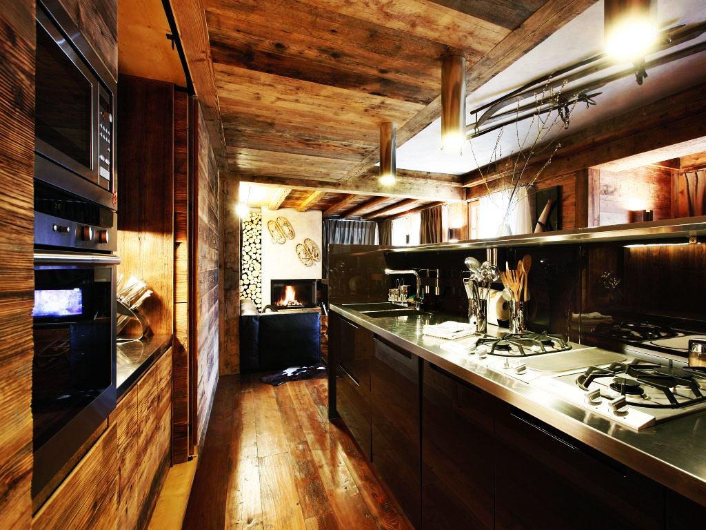 Dark Kitchen, Ampezzo Meleres in Cortina d'Ampezzo, Italy by Gianpaolo Zandegiacomo