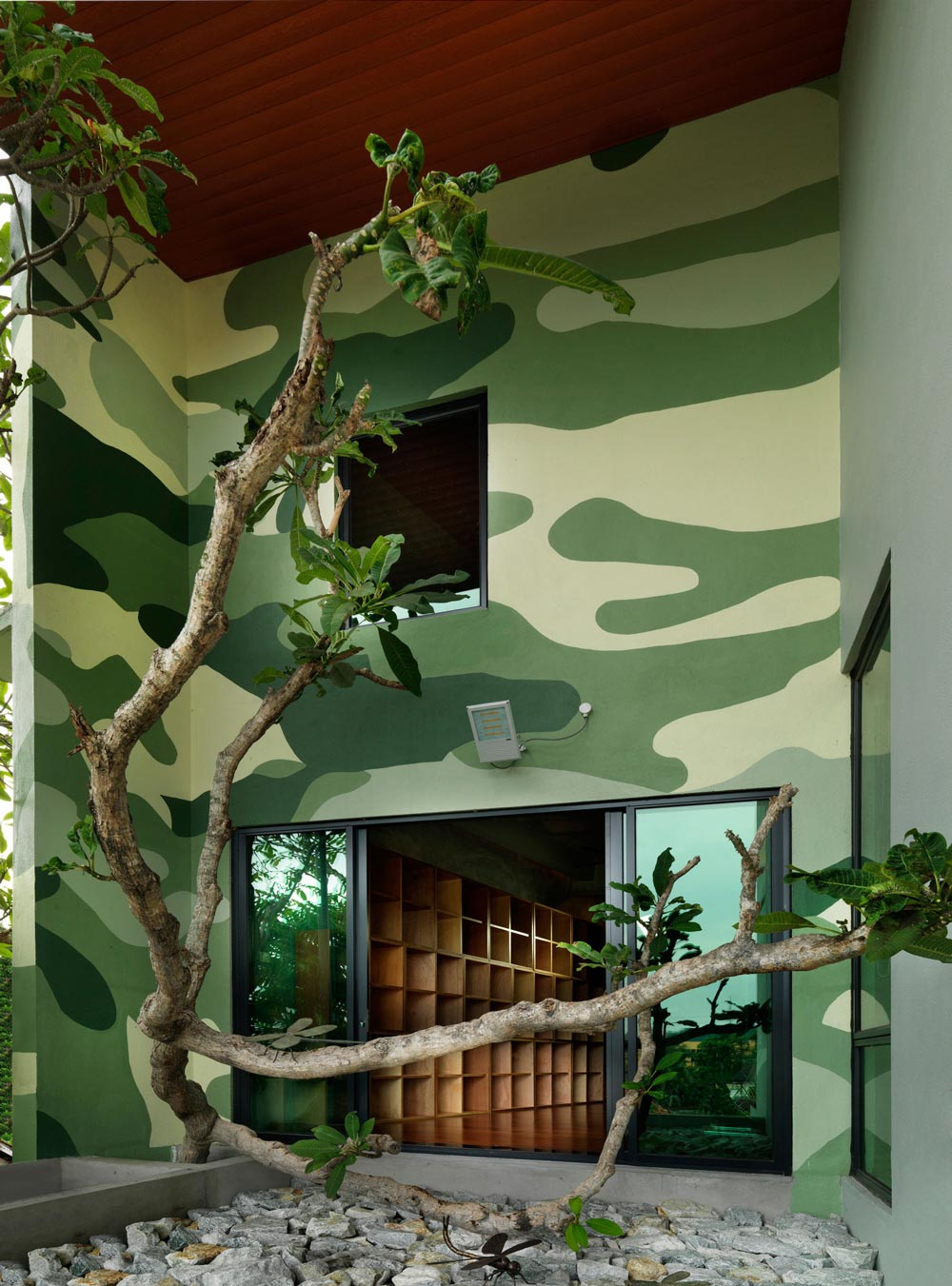 Patio Doors, S11 House in Selangor, Malaysia by ArchiCentre