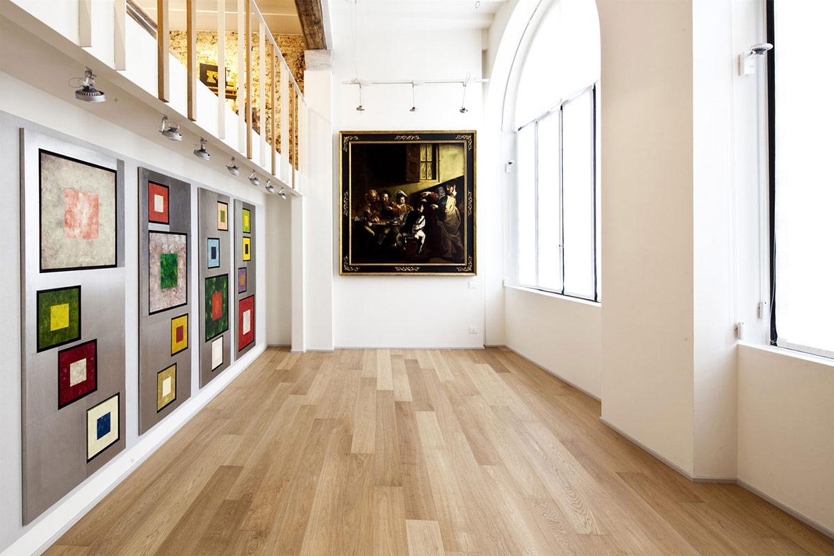 Art, T House in Sant'Ambrogio, Milan by Takane Ezoe + Modourbano