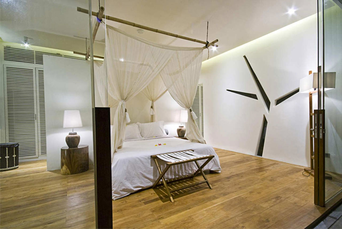 Bedroom, Tantangan Villa in Bali by Word of Mouth Architecture