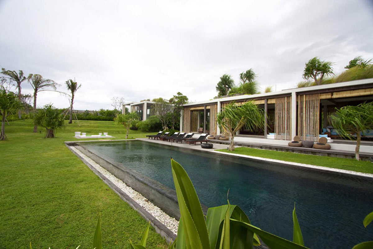 Swimming pool tantangan villa in bali by word of mouth for Pool design bali