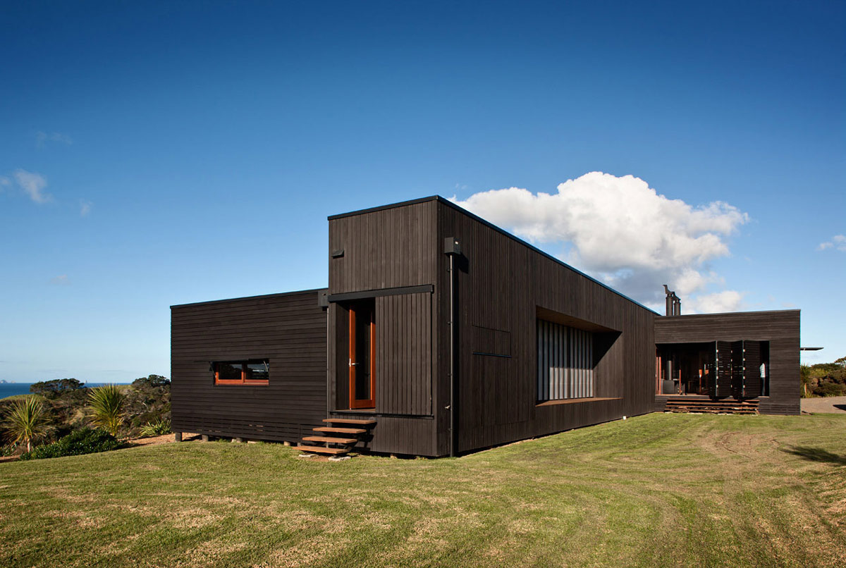 Tutukaka House In New Zealand By Crosson Clarke Carnachan Architects. Full resolution‎  file, nominally Width 1200 Height 806 pixels, file with #184E87.