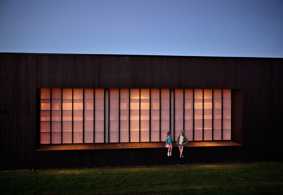 Lighting, Tutukaka House in New Zealand by Crosson Clarke Carnachan Architects