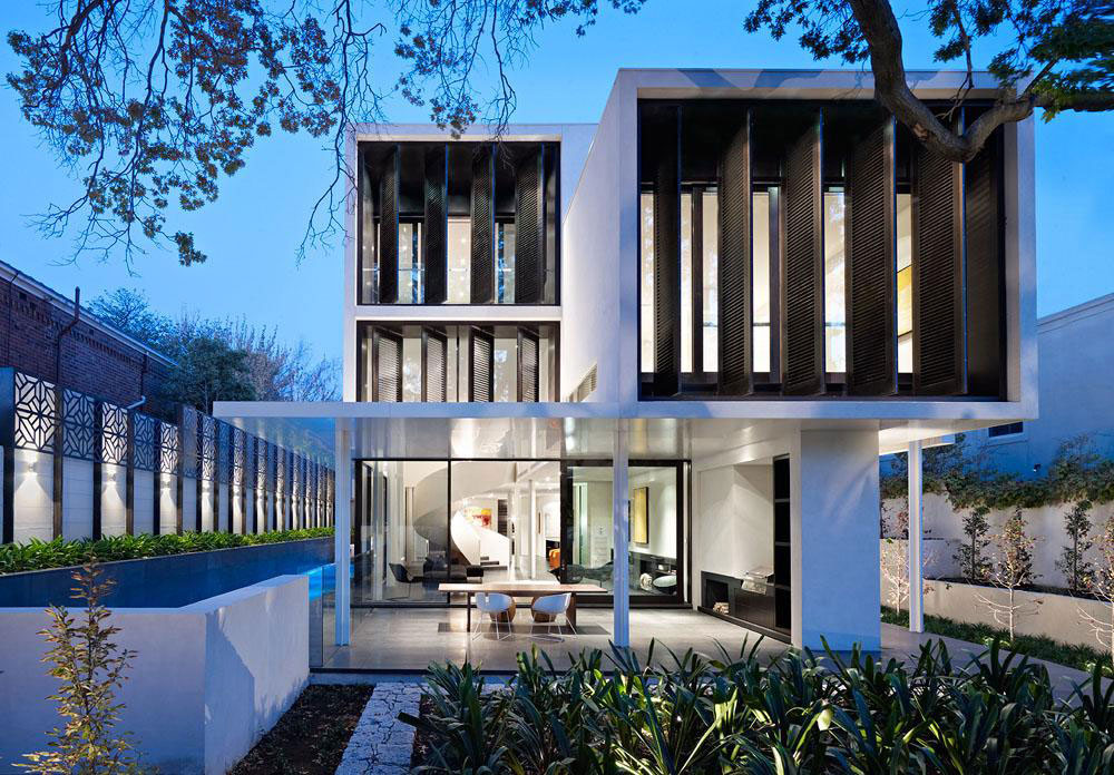 Verdant avenue home in melbourne australia by robert for New home designs melbourne
