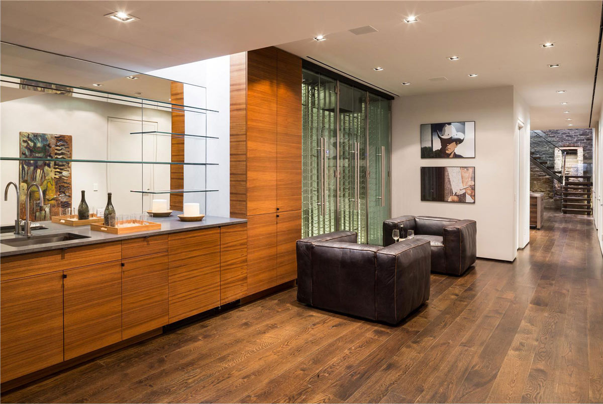 Bar, Living Space, Converted Townhouse, in Greenwich Village in New York City
