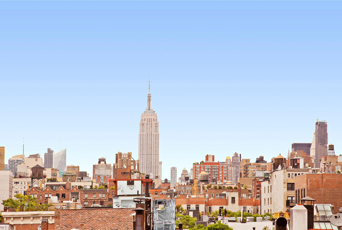 Views of the City, Converted Townhouse, in Greenwich Village in New York City