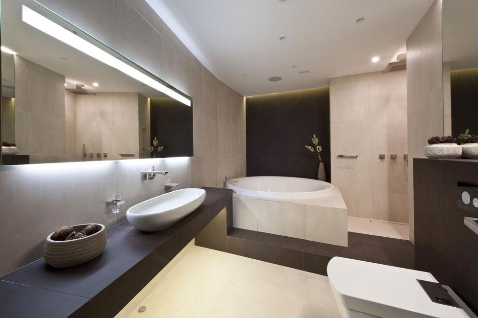 Bathroom, Apartment in Zelenograd, Russia by Alexandra Fedorova