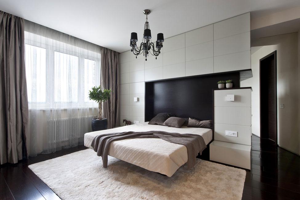 Bedroom, Rug, Apartment in Zelenograd, Russia by Alexandra Fedorova