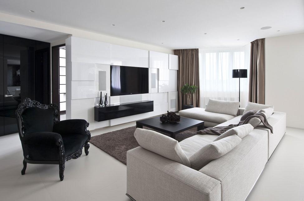 Elegant Apartment in Zelenograd, Russia by Alexandra Fedorova