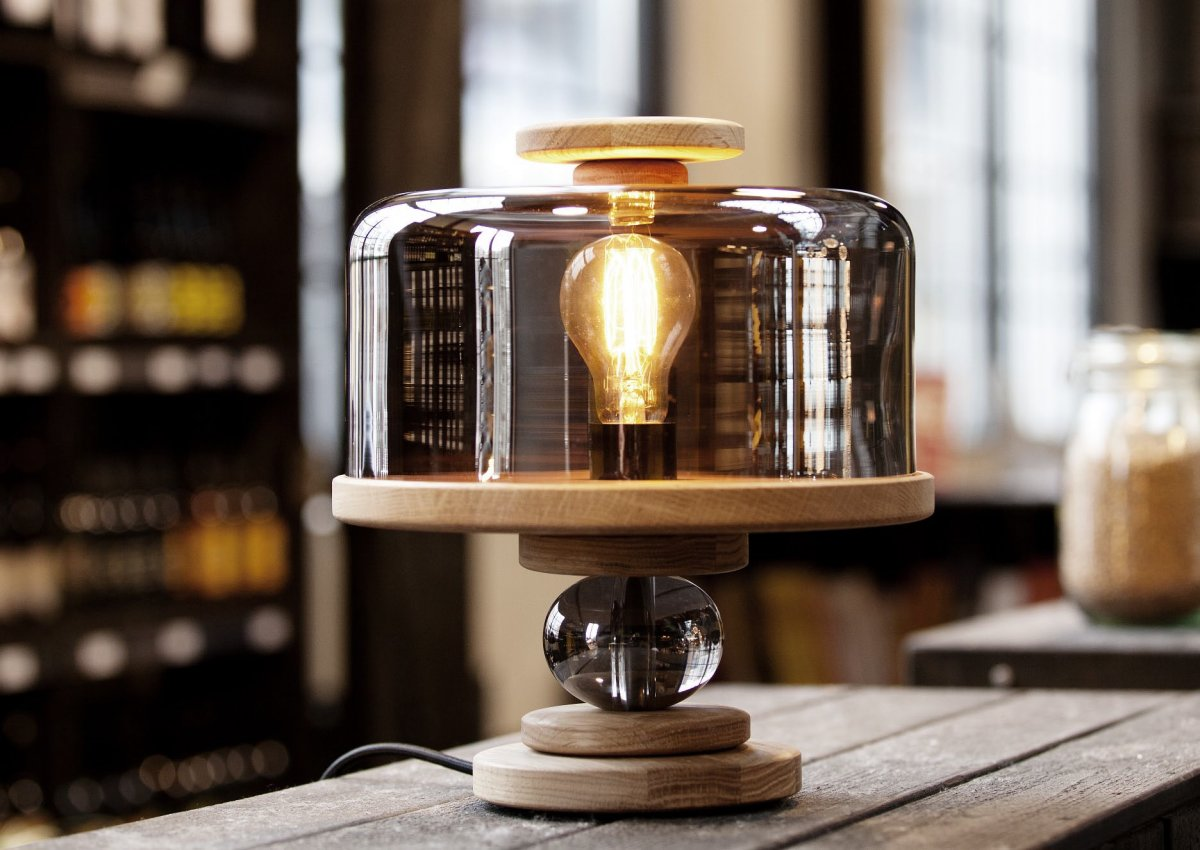 Bake me a Cake Table Lamp by Morten & Jonas