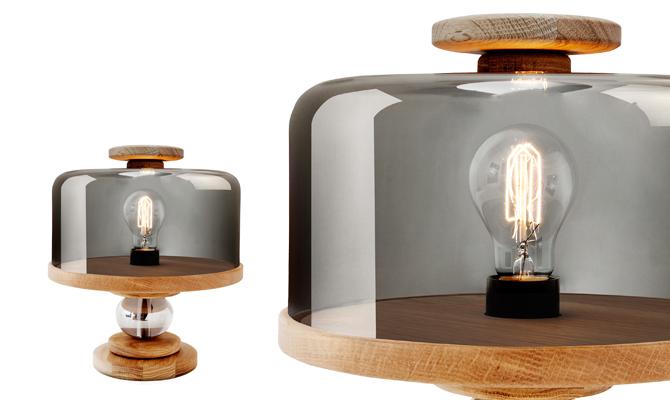 Bake me a Cake Table Lamp by Morten & Jonas