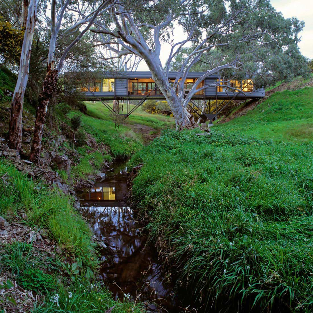 Bridge House In Adelaide Australia By Max Pritchard Architect